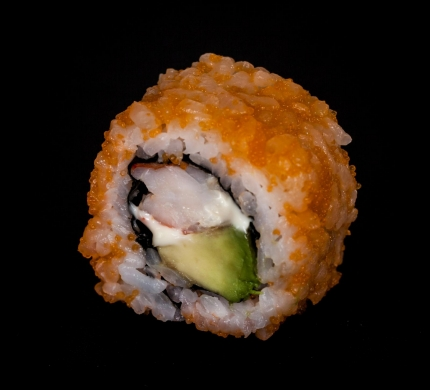 Red Ebi avocado roll (U1)