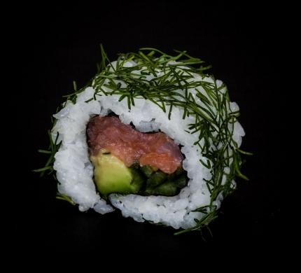 Smoked Salmon Kappa roll (U4)