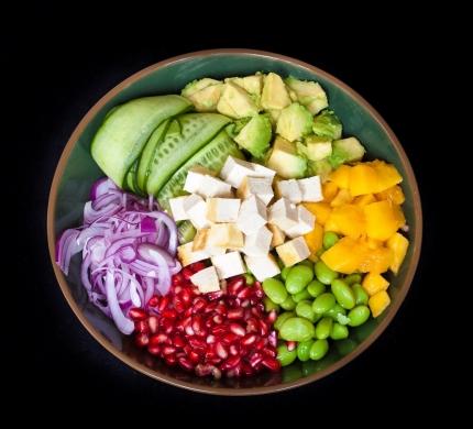 Vegetarian poke